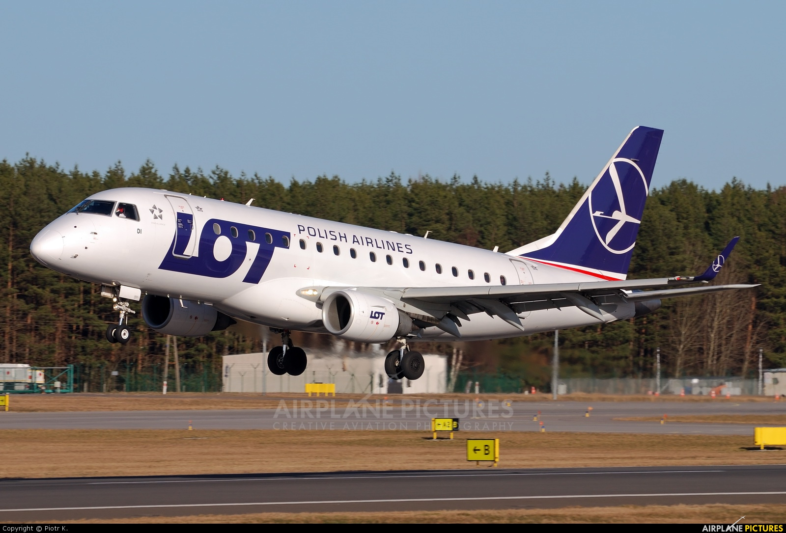 LOT - Polish Airlines SP-LDI aircraft at Gdańsk - Lech Wałęsa