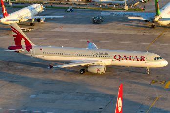 A7-AIA - Qatar Airways Airbus A321