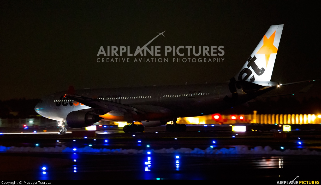 Jetstar Airways VH-EBK aircraft at Tokyo - Narita Intl
