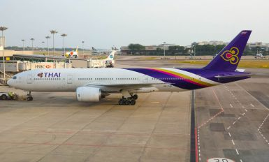 HS-TJH - Thai Airways Boeing 777-200