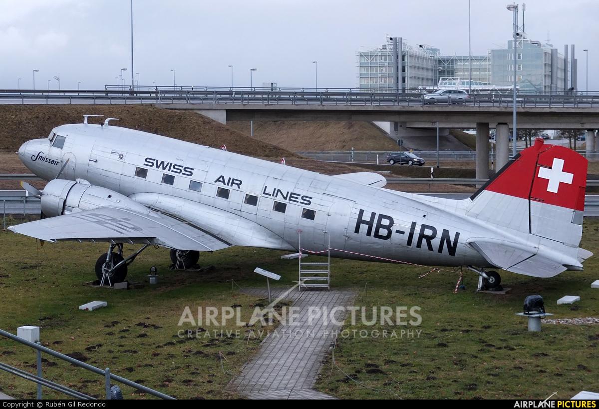 Swissair HB-IRN aircraft at Munich