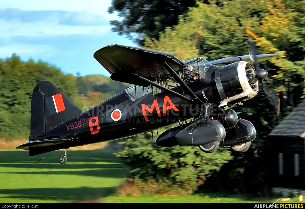 The Shuttleworth Collection G-AZWT aircraft at Old Warden