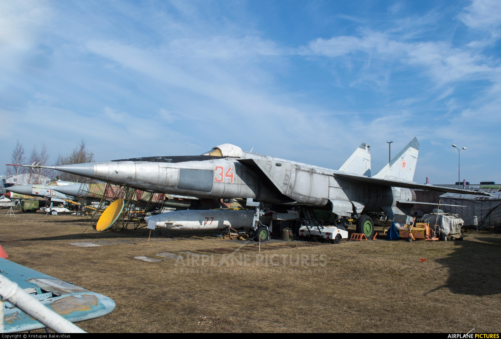 Russia - Air Force 34 aircraft at Riga Aviation Museum