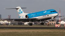 PH-KZW - KLM Cityhopper Fokker 70 aircraft