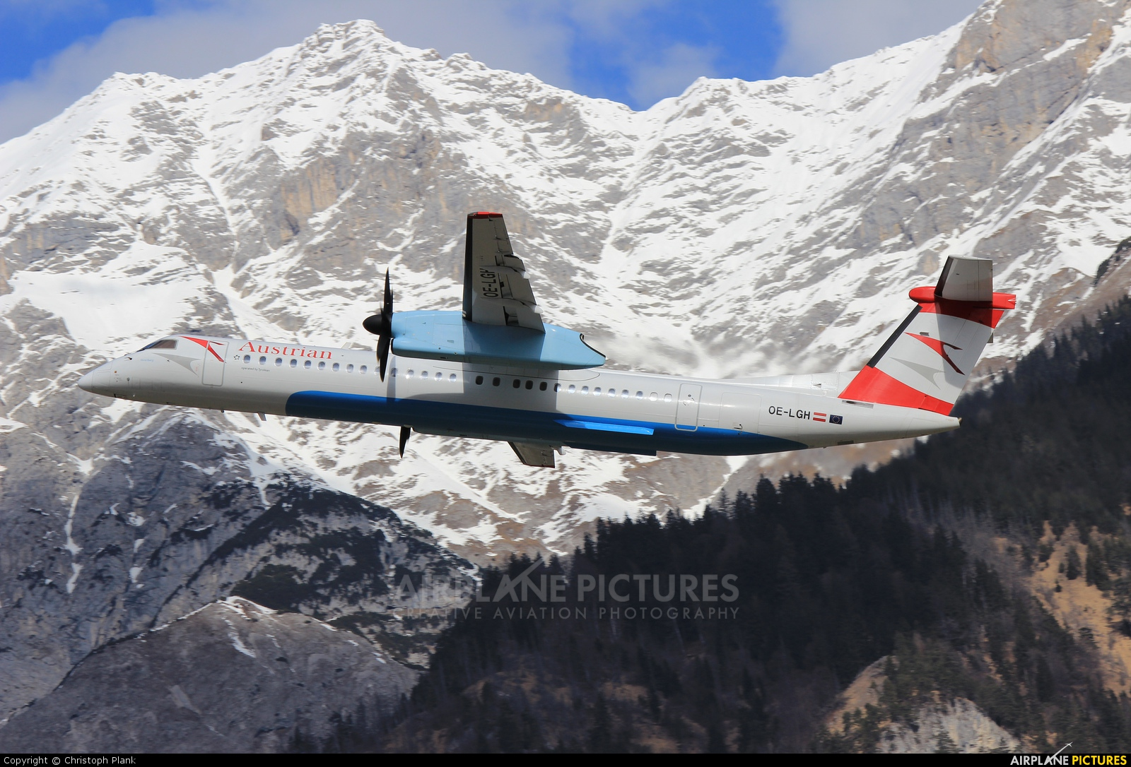 Austrian Airlines/Arrows/Tyrolean OE-LGH aircraft at Innsbruck