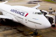 F-GITD - Air France Boeing 747-400 aircraft