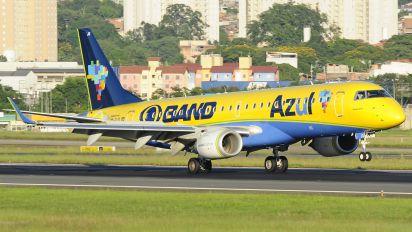 PP-PJQ - Azul Linhas Aéreas Embraer ERJ-190 (190-100)