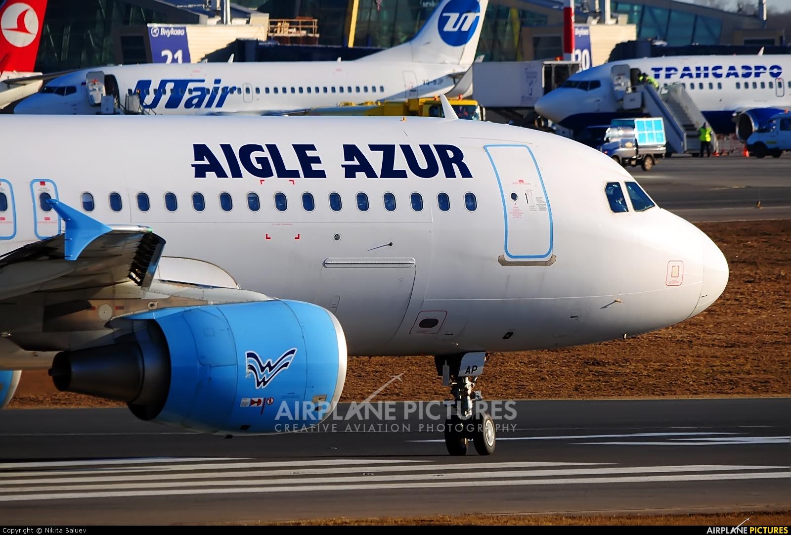 Aigle Azur F-HBAP aircraft at Moscow - Vnukovo
