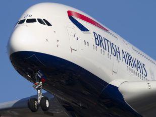 G-XLEC - British Airways Airbus A380
