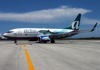 N354AT - AirTran Boeing 737-700