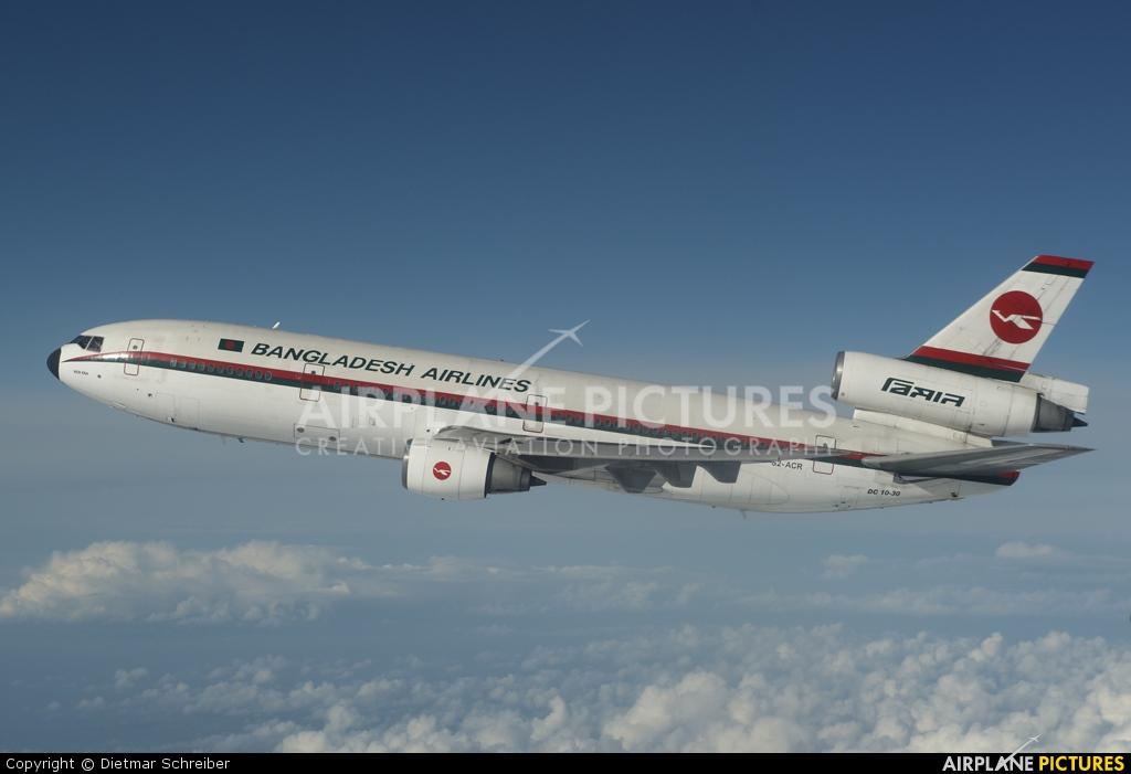 Biman Bangladesh S2-ACR aircraft at In Flight - Wales