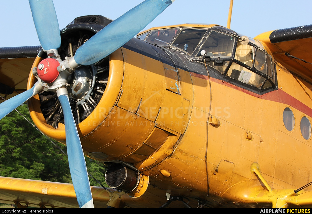 Private HA-MKG aircraft at Dunakeszi