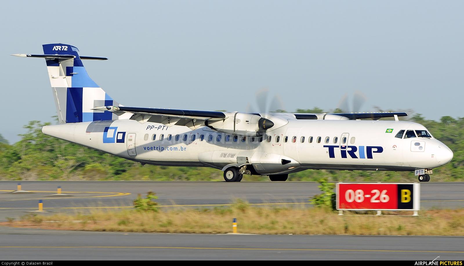 Trip Linhas Aéreas PT-PTT aircraft at Macapá Intl