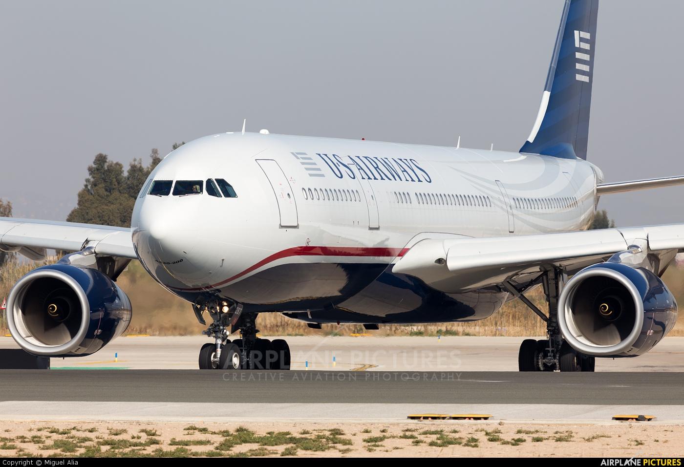 US Airways N287AY aircraft at Barcelona - El Prat
