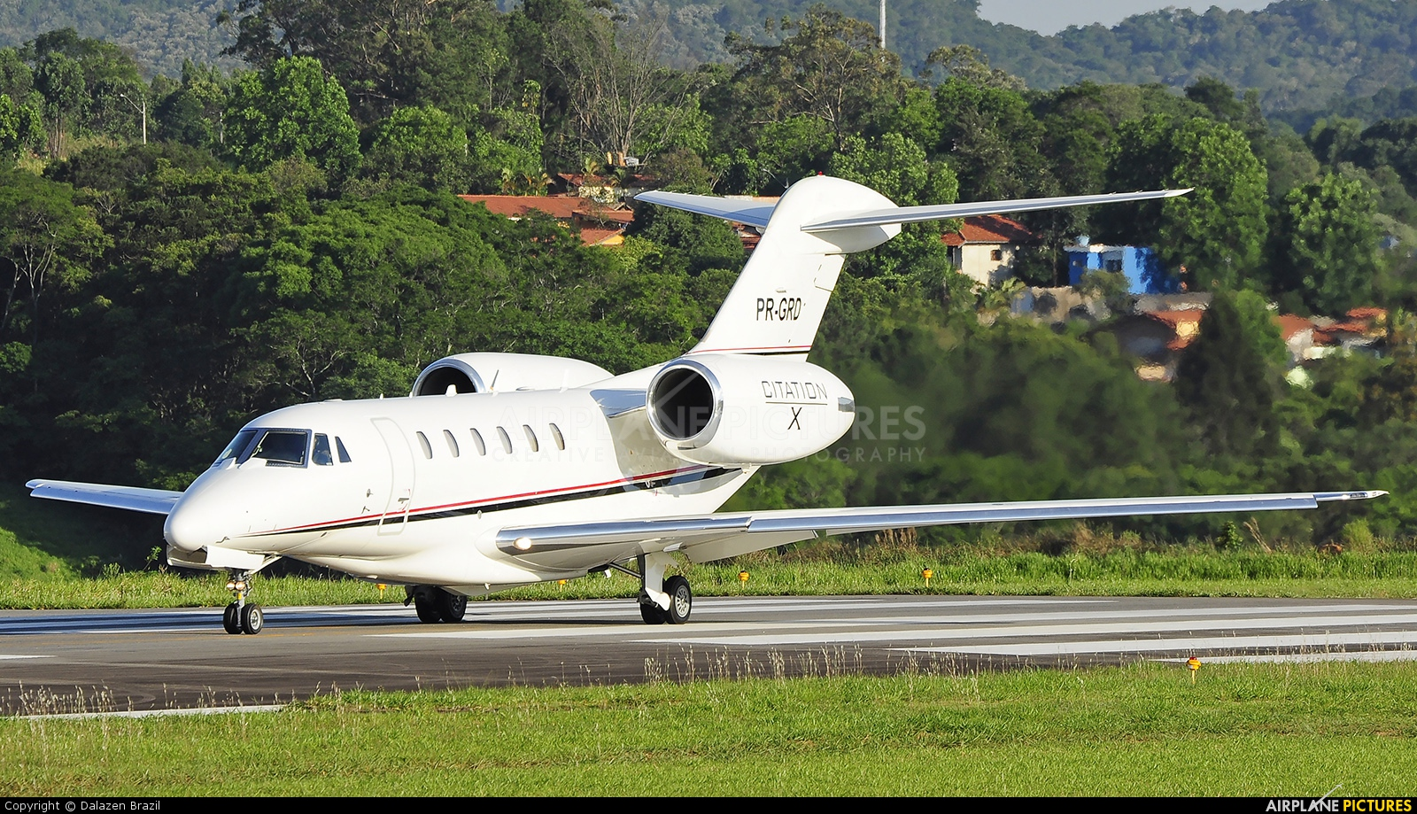 Private PR-GRD aircraft at Jundiaí, SP
