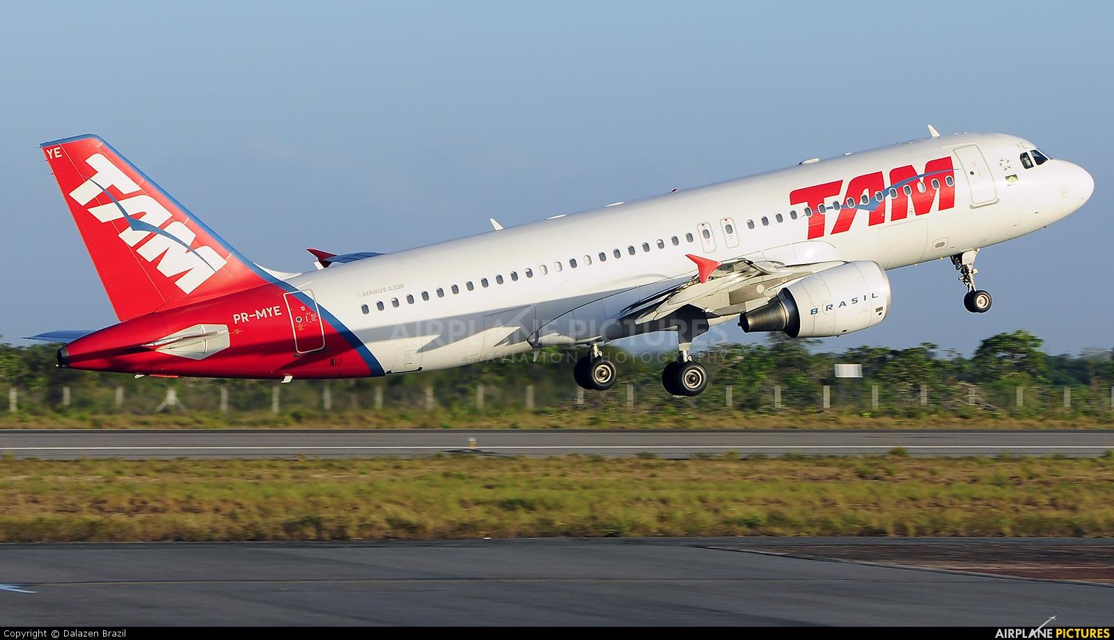 TAM PR-MEY aircraft at Macapá Intl