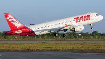 PR-MEY - TAM Airbus A320 aircraft