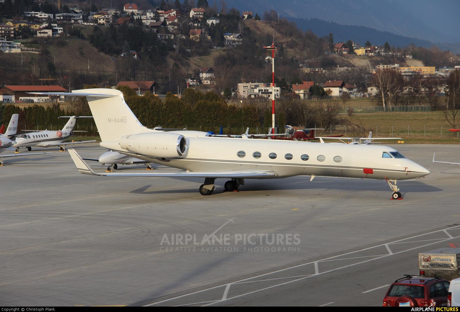 Avcon Jet M-SAWO aircraft at Innsbruck