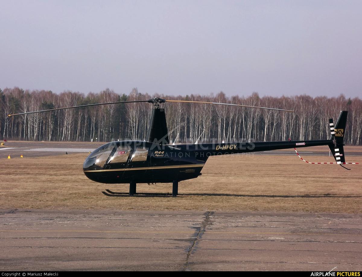 Sky Poland D-HFCY aircraft at Warsaw - Babice