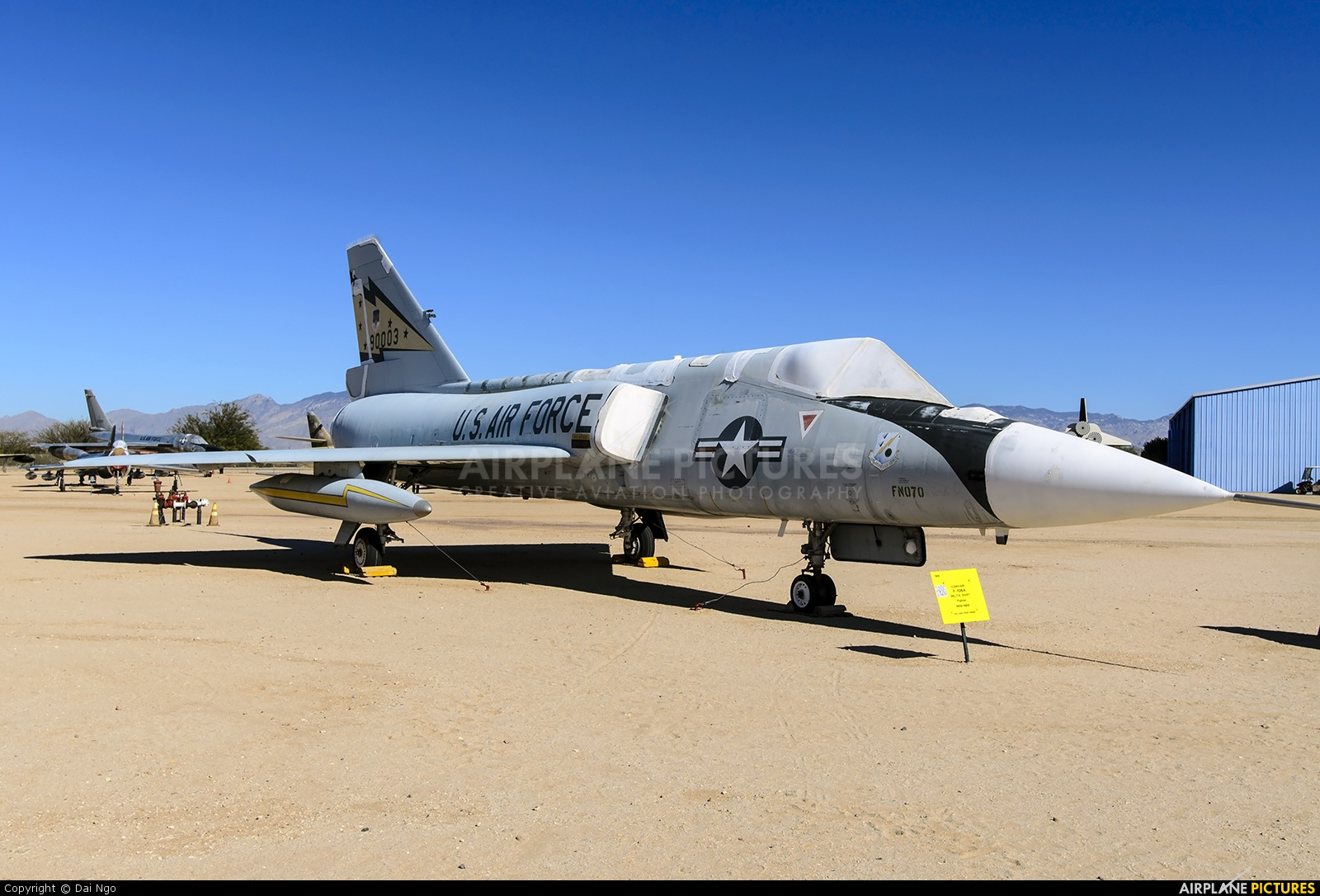 USA - Air Force 59-0003 aircraft at Tucson - Pima Air & Space Museum