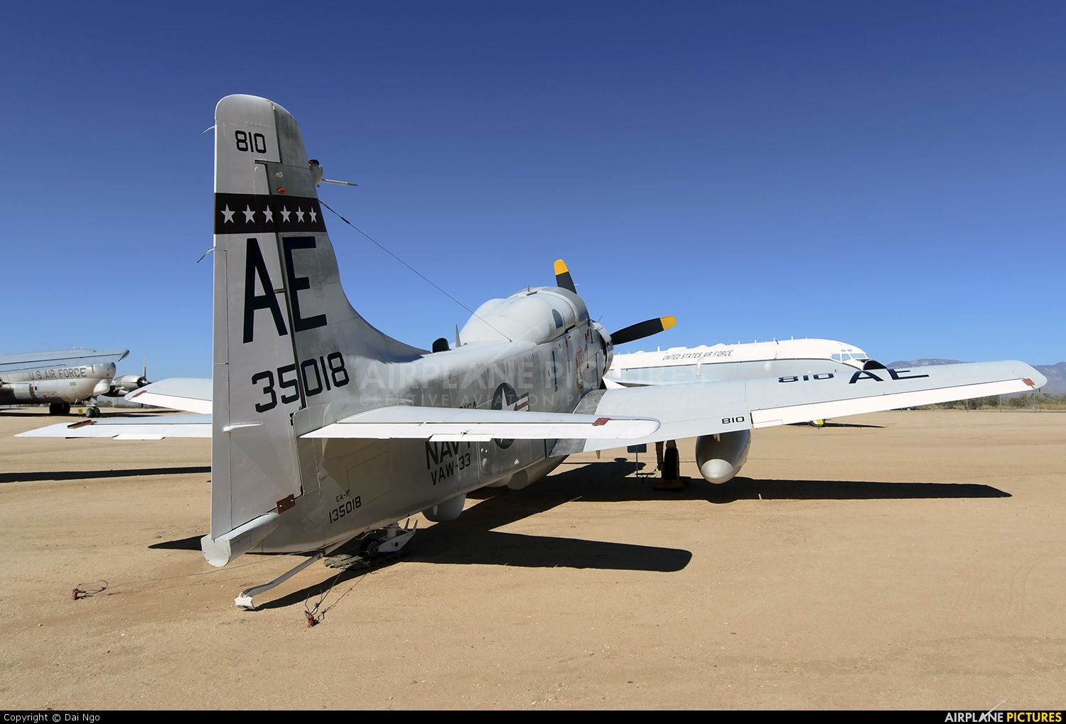 USA - Navy 135018 aircraft at Tucson - Pima Air & Space Museum