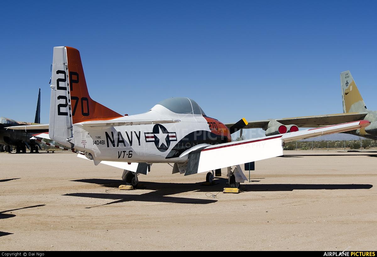 USA - Navy 140481 aircraft at Tucson - Pima Air & Space Museum