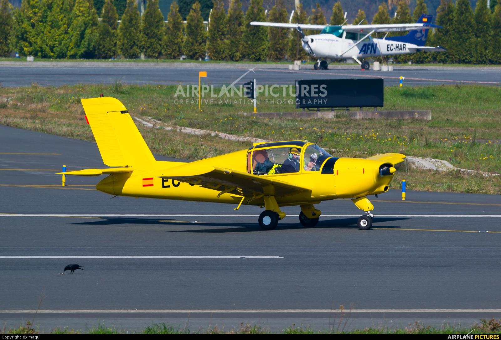 Real Aero Club de La Coruña EC-CLY aircraft at La Coruña
