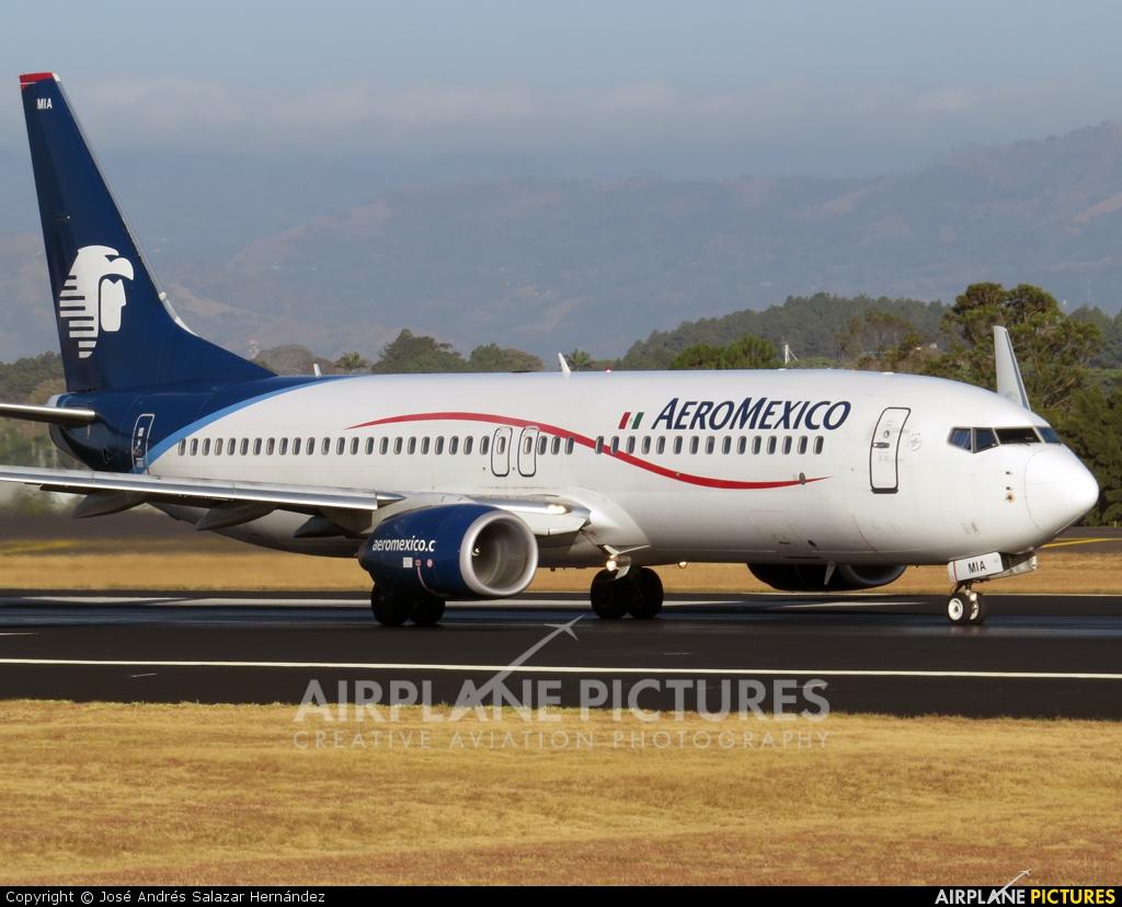 Aeromexico XA-MIA aircraft at San Jose - Juan Santamaría Intl