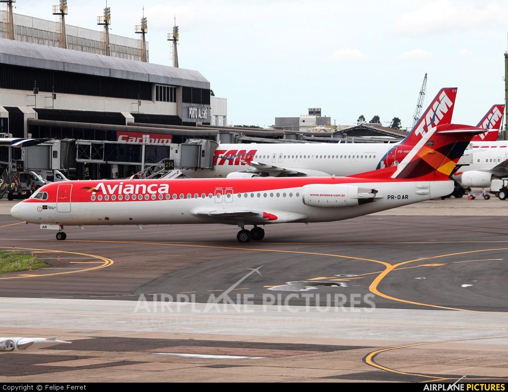 Avianca Brasil PR-OAR aircraft at Porto Alegre - Salgado Filho
