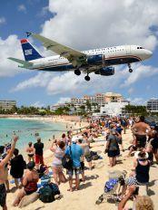 N737US - US Airways Airbus A319