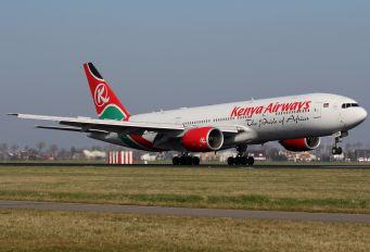5Y-KQS - Kenya Airways Boeing 777-200ER