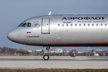 VQ-BEG - Aeroflot Airbus A321