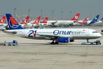 TC-OBG - Onur Air Airbus A320