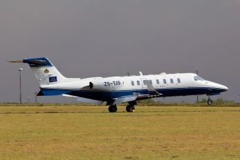 ZS-TJS - Private Learjet 45