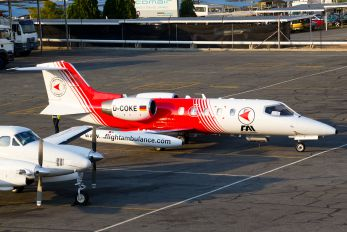 D-COKE - FAI - Flight Ambulance International Learjet 35