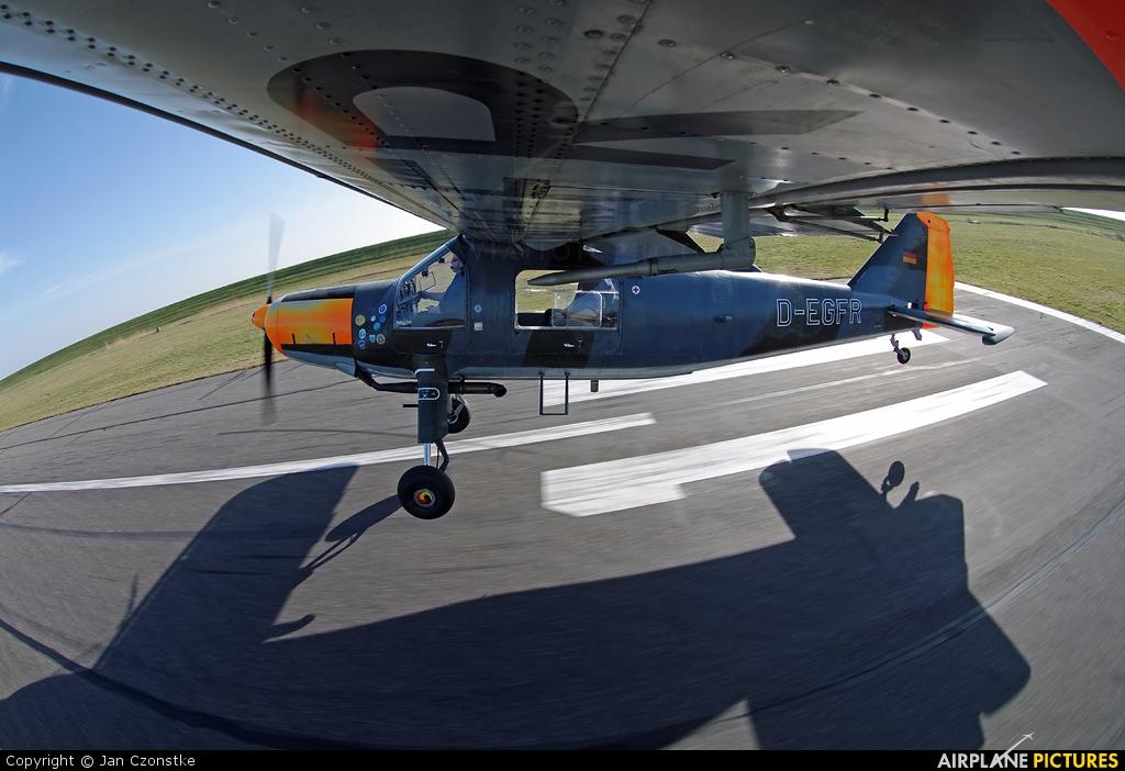 Sportfluggruppe Nordholz/Cuxhaven D-EGFR aircraft at Wangerooge