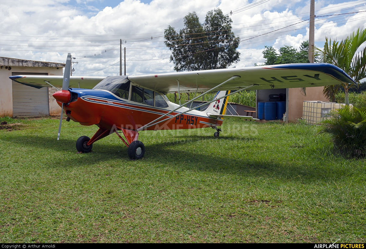 Private PP-HSY aircraft at Tefé
