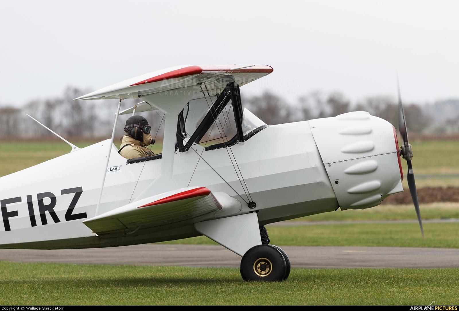 Private G-FIRZ aircraft at Perth - Scone