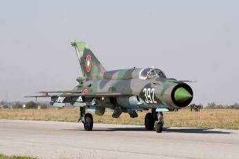 392 - Bulgaria - Air Force Mikoyan-Gurevich MiG-21bis