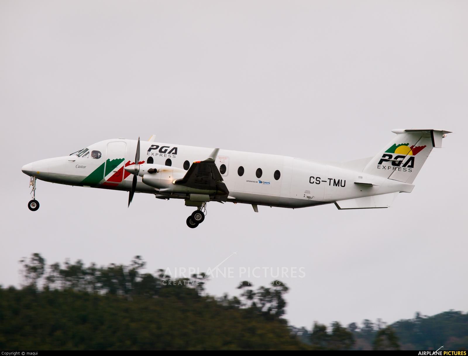 PGA Portugalia CS-TMU aircraft at La Coruña