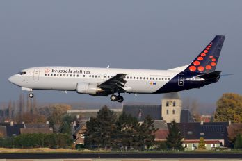 OO-VEK - Brussels Airlines Boeing 737-400