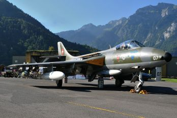 J-4007 - Switzerland - Air Force Hawker Hunter F.58