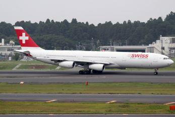 HB-JMB - Swiss Airbus A340-300