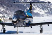 HB-FVD - Air Corviglia Pilatus PC-12 aircraft