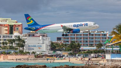 N614NK - Spirit Airlines Airbus A320