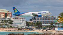 N614NK - Spirit Airlines Airbus A320 aircraft