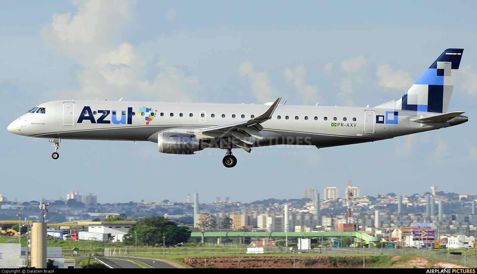 Azul Linhas Aéreas PR-AXV aircraft at Campinas - Viracopos Intl