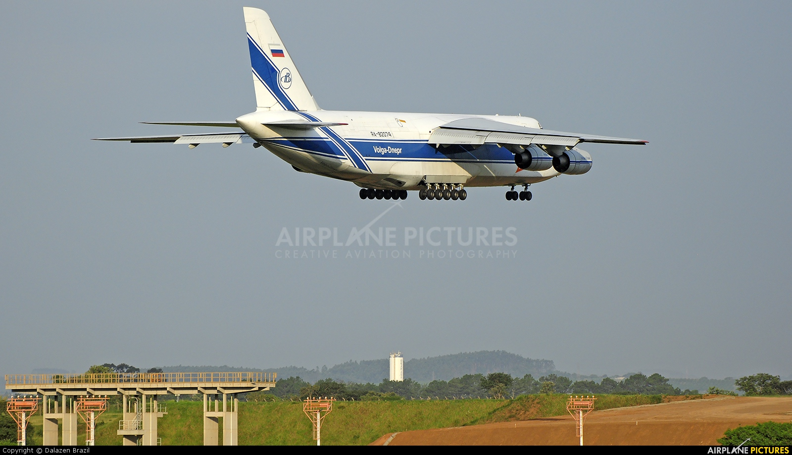 Volga Dnepr Airlines RA-82074 aircraft at Campinas - Viracopos Intl