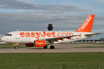 G-EZFS - easyJet Airbus A319