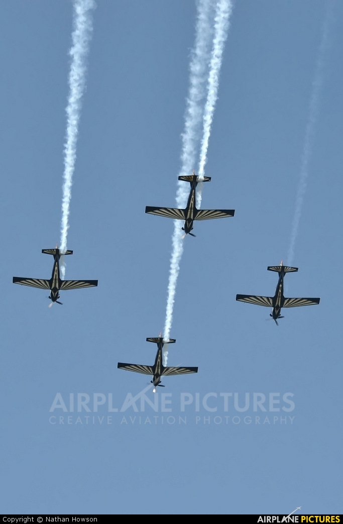 South Africa - Air Force: Silver Falcons - aircraft at Off Airport - South Africa